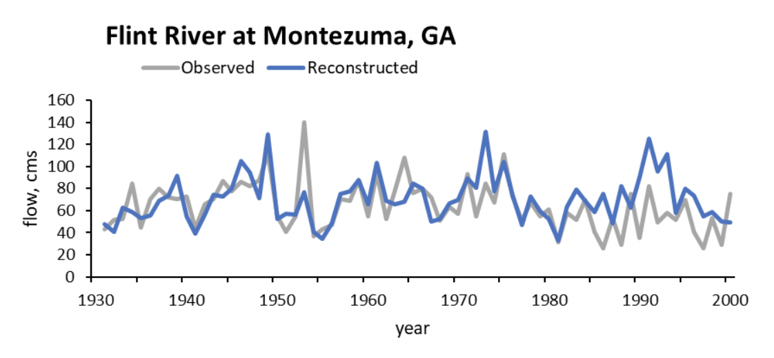 Figure 2 - Flint River at Montezuma, GA